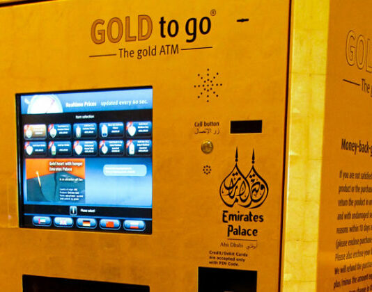 Gold ATM in Dubai