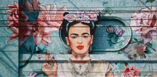 Frida Calho graffiti