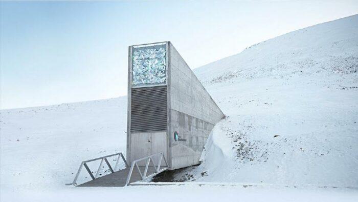 4.Światowy Bank Nasion w Svalbard, Norwegia