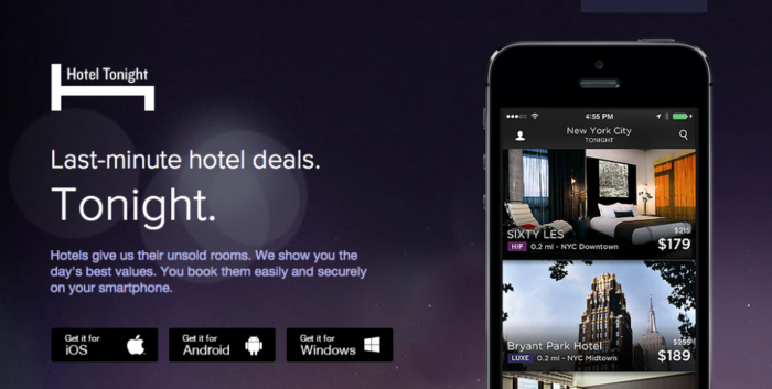 the hotel tonight app download information