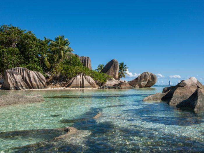 Source d'Argent in Seychelles