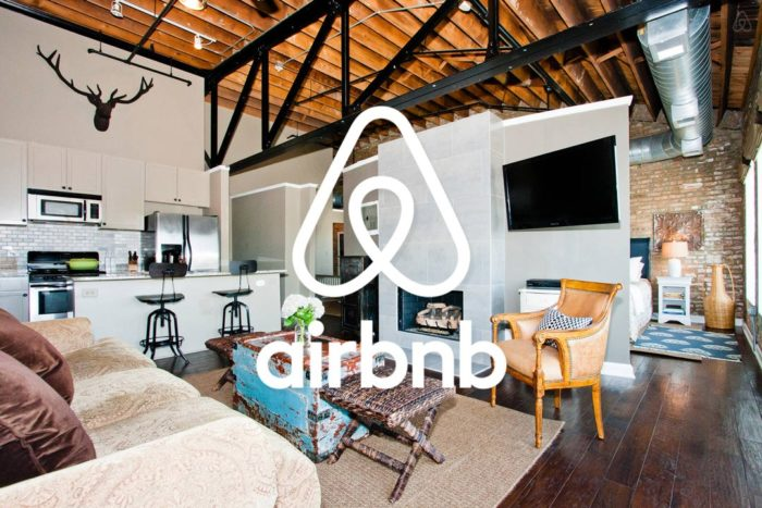 A room of an AIRBNB Hotel