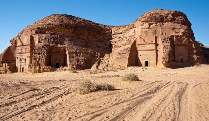 Al-Hijr ruins in Saudia Arabia