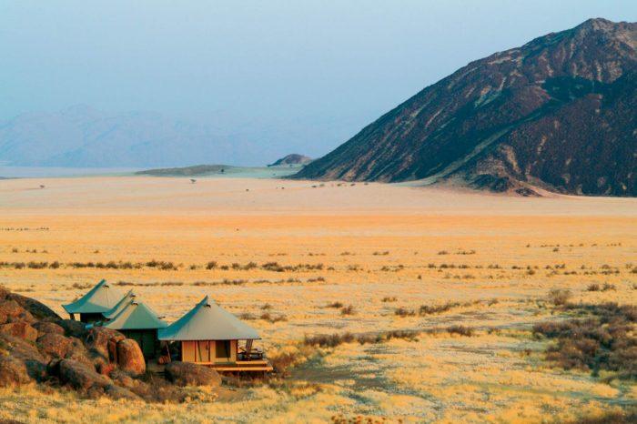 Cottages in Namib Rand, Namibia