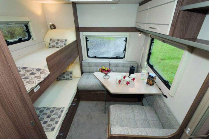A room in the caravan