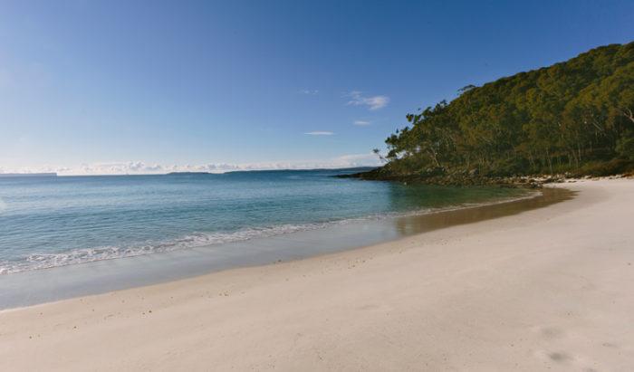 Greenfield beach in Australia