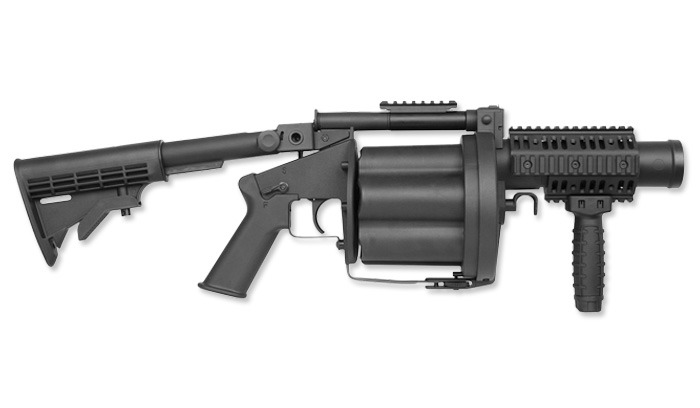 A picture of grenade launcher