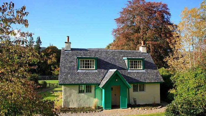 A holiday cottage