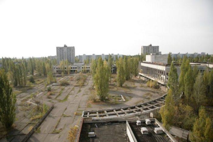 Pripyat, an abandoned city of Ukraine