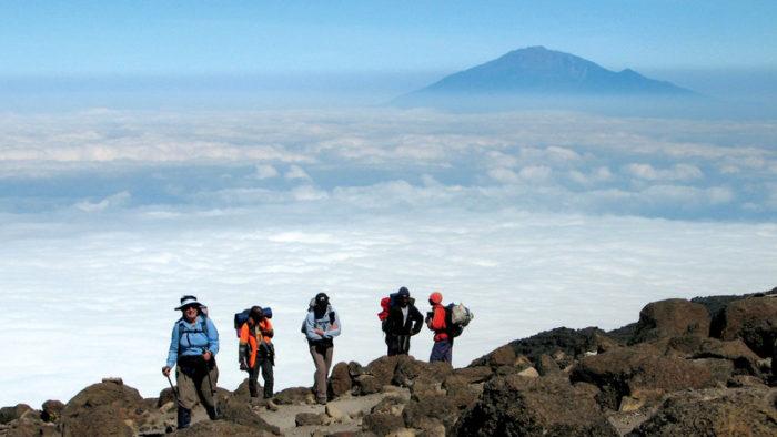 Hiking on Mount Kilimanjaro – Tanzania