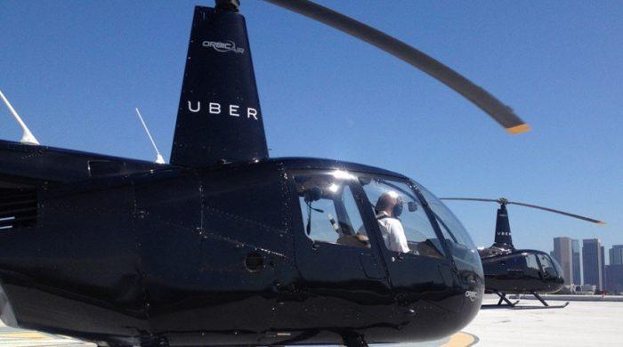 Uber chopper in dubai