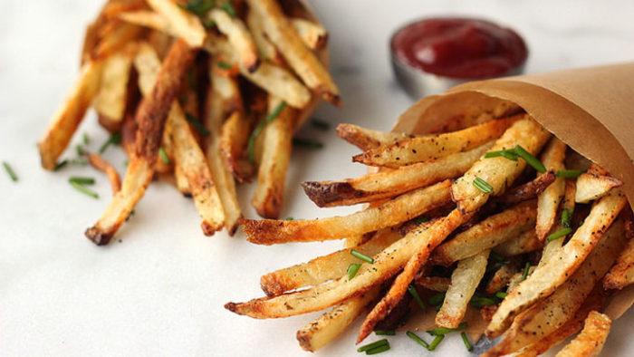 fresh fries