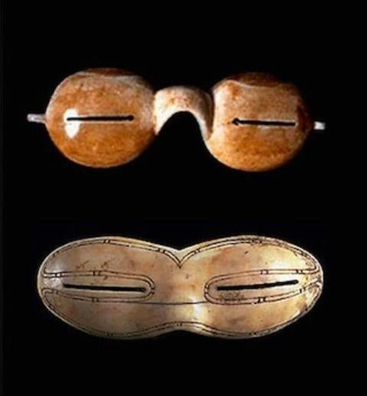 The First Sunglasses Were Made By The Inuits