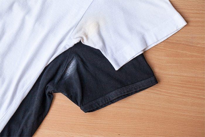 manchas en la ropa