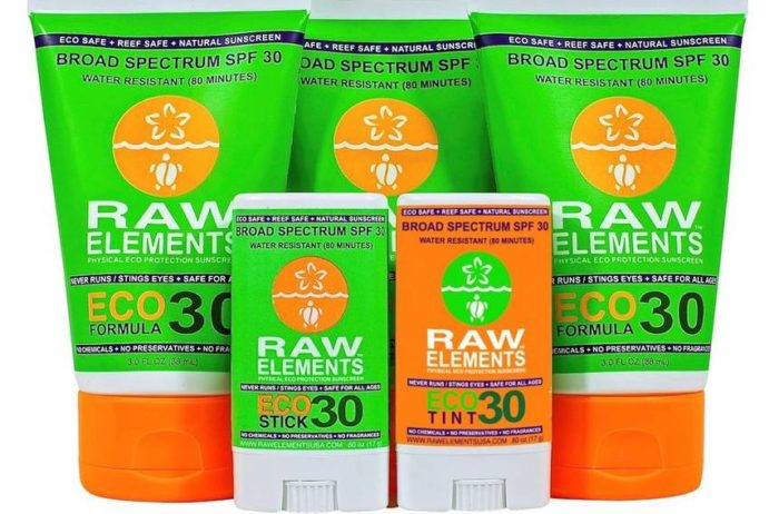 Sunscreen (reef safe)