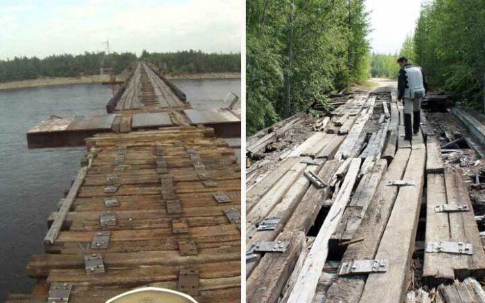 Vitim River Bridge, Russia