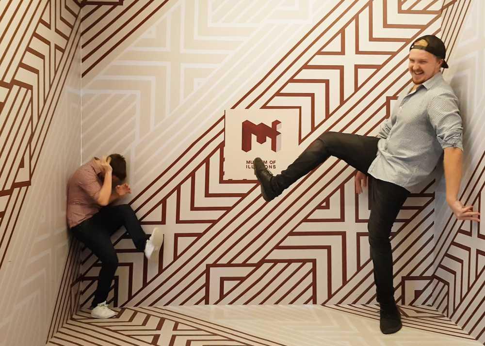 Museum av illusioner i Dubai