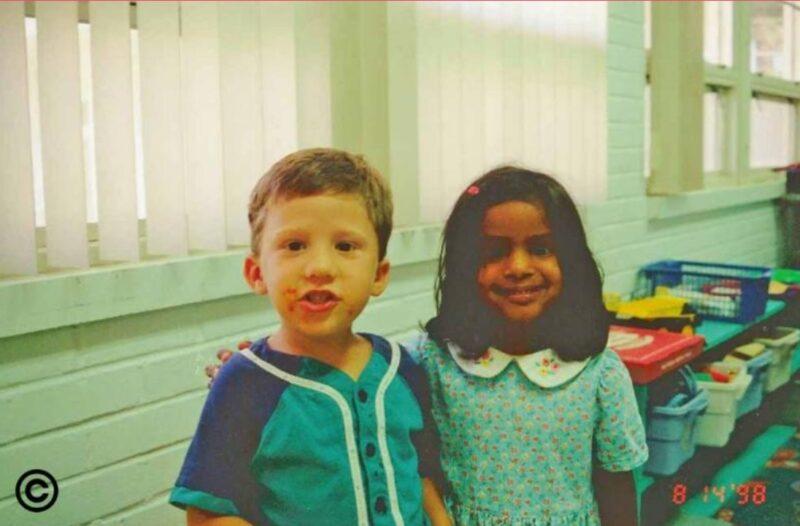 Laura i Matt razem w przedszkolu